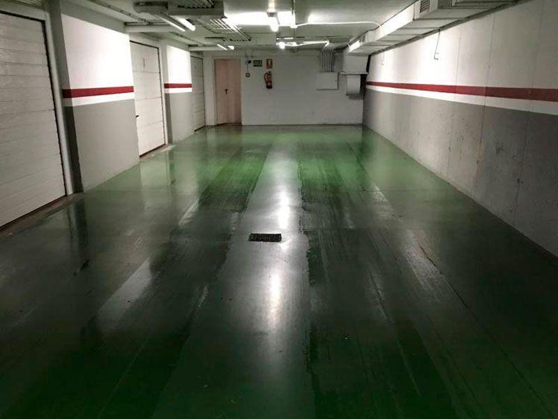 Limpieza de garajes en Valencia - rampas de garaje- VGA Servicios de limpieza