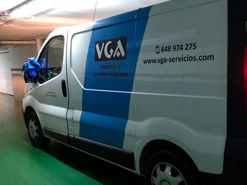 Limpieza de garajes en Valencia - Pasillos - VGA Servicios de limpieza