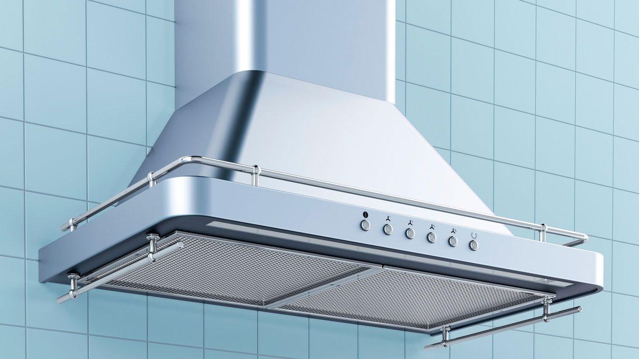 Cómo quitar grasa de la campana extractora de la cocina