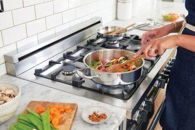Cómo ensuciar menos al cocinar