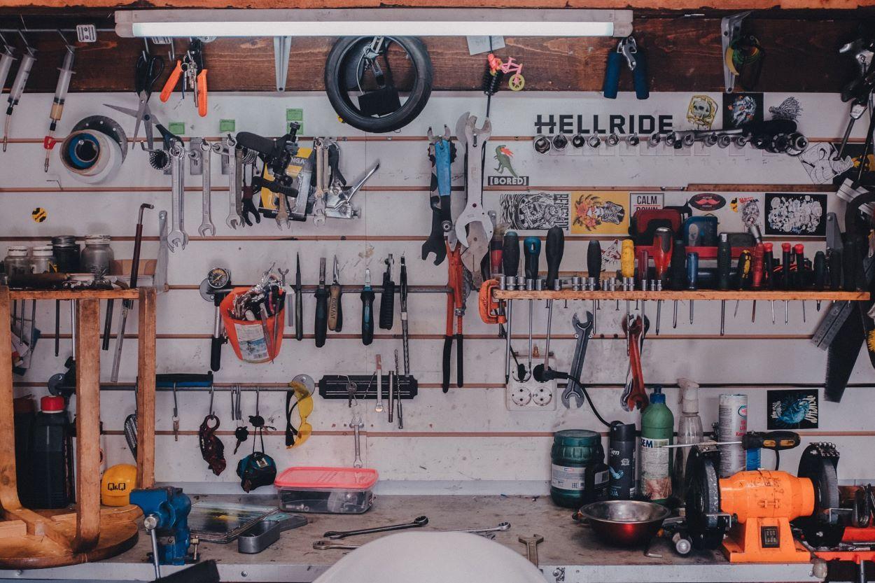 Consejos para ordenar las herramientas en el garaje o cobertizo